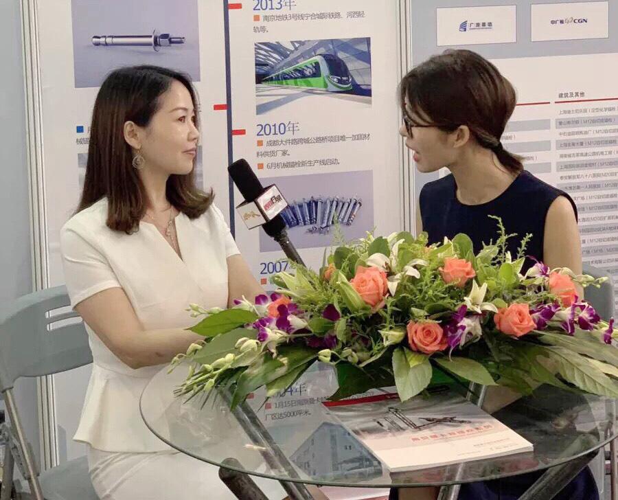 CCTV央视《信用档案》栏目采访曼卡特黄总