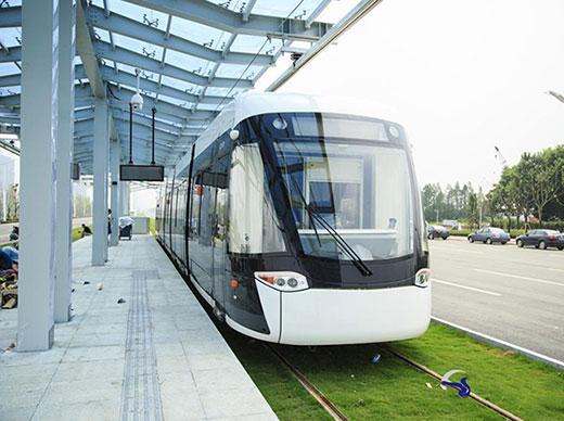 曼卡特自切底锚栓被南京有轨电车指定使用