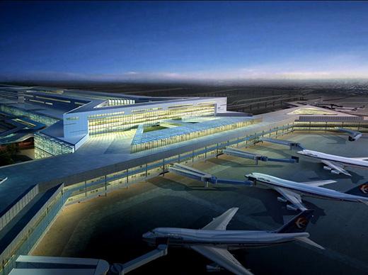 曼卡特NJMKT自切底锚栓让上海虹桥机场光辉永恒