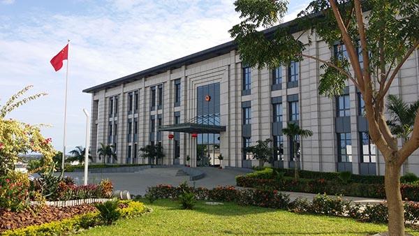 NJMKT植筋胶功劳之--中国驻科特迪瓦大使馆加固