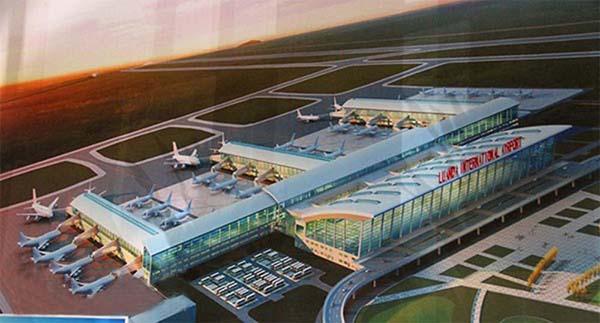西科植筋胶跨出国门--安哥拉罗安达新国际机场丙谷胺、公寓项目