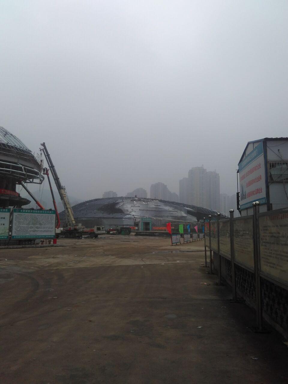 南京曼卡特后扩底锚栓筑入长沙28亿国际文化艺术中心