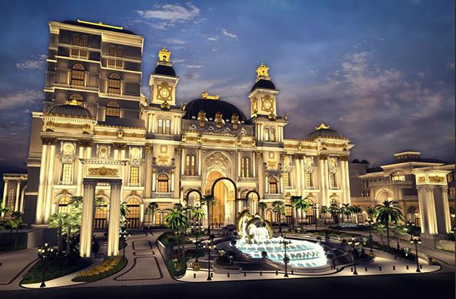 南京曼卡特在塞班铸造了一座皇宫