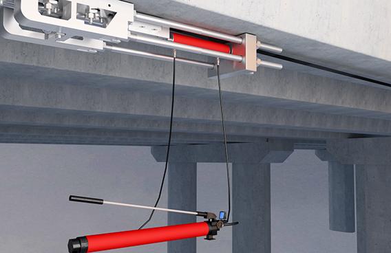 技术篇:曼卡特预应力碳纤维板反向张拉施工流程(视频)
