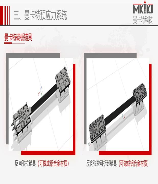 南京预应力碳布锚具加固系统介绍